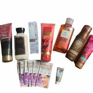 Women bundle of assorted bath and body product